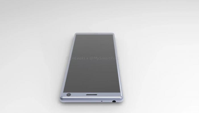 Sony Xperia XA3 показали на CAD-рендере со всех сторон – фото 2