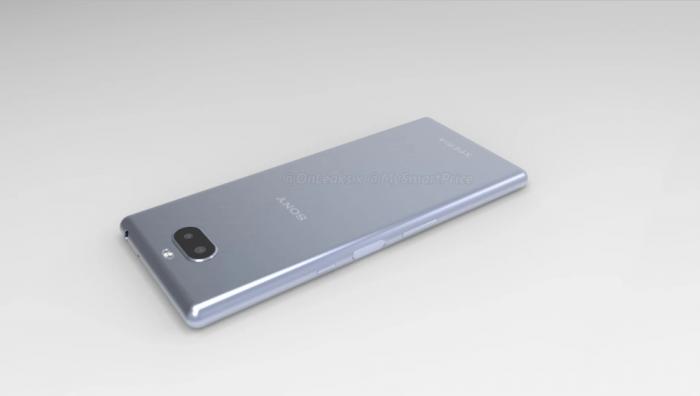 Sony Xperia XA3 показали на CAD-рендере со всех сторон – фото 3