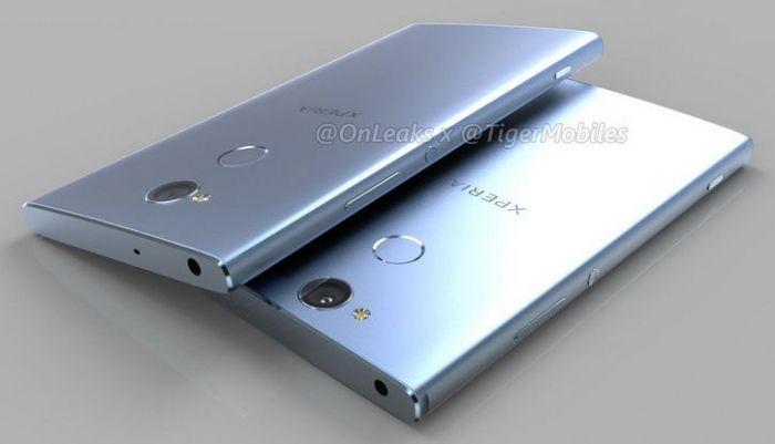 Sony Xperia L2, Xperia XA2 и Xperia XA2 Ultra: характеристики и 3D-рендеры – фото 3