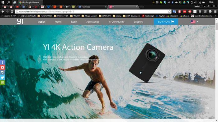 Xiaomi Yi 4K Action Camera 2: подробности о характеристиках и возможностях новинки – фото 1