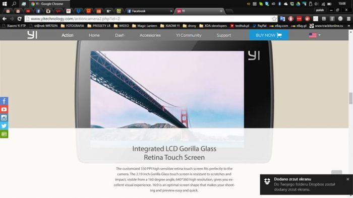 Xiaomi Yi 4K Action Camera 2: подробности о характеристиках и возможностях новинки – фото 4