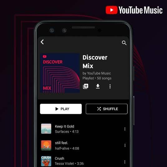 YouTube Music Mix