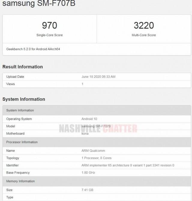 Samsung Galaxy Z Flip 5G сделали апгрейд аппаратной платформы – фото 1