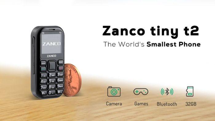Zanco Tiny T2: самый маленький 3G-телефон в мире – фото 1
