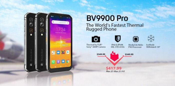 Вышел Blackview BV9900 Pro, и компания получила престижную награду – фото 1