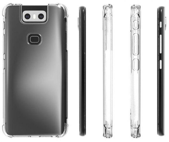 Изображения ASUS ZenFone 6: фасад в духе iPhone X и дизайнерский маневр с основной камерой – фото 2
