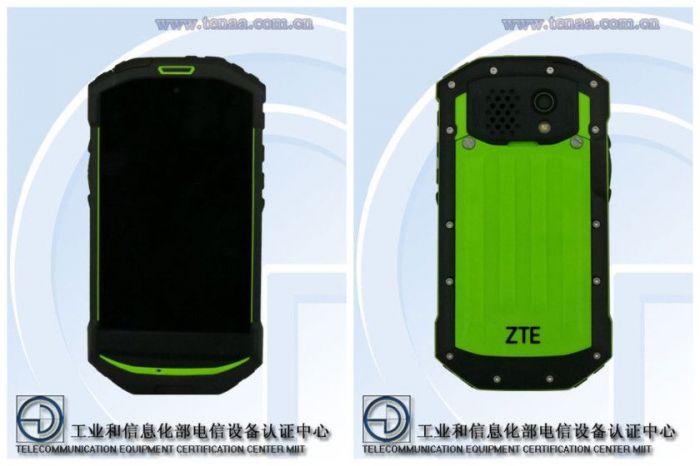 Защищенный ZTE C501 сертифицирован в TENAA – фото 1