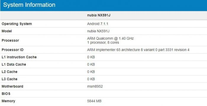 Nubia Z17 Lite: вот вам облегченная версия флагмана на базе Snapdragon 617 – фото 1