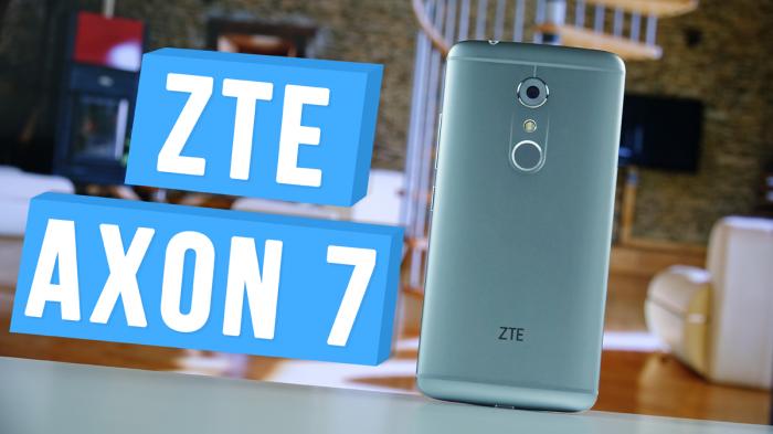 ZTE Axon 7: распаковка смартфона из премиум сегмента для аудиофилов – фото 1