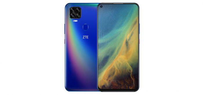 ZTE V2020 5G синий цвет