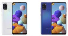 Samsung Galaxy A21s: ценник 200 евро и новый чип