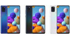 Назвали ценники на Samsung Galaxy A21s