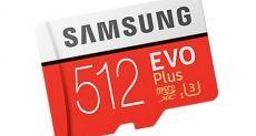 Новая карта microSD от Samsung имеет вместимость 512 Гб