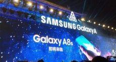 Подробности и фото передней панели Samsung Galaxy A8s