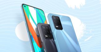 Представили Realme V13 5G с емкой батарейкой и 90 Гц дисплеем