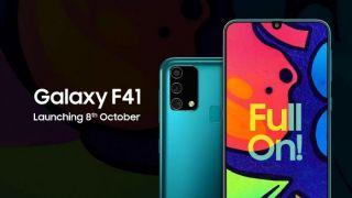 Samsung F41 показали в официальном рекламном ролике