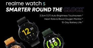 Realme покажут свои часы Realme Watch S уже 2 ноября