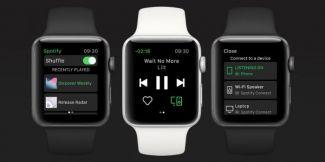 Теперь владельцы Apple Watch могут слушать музыку из Spotify прямо с часов