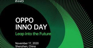 Oppo проведет очередную крупную конференцию INNO DAY 2020, где покажут новые достижения компании