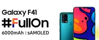 Samsung Galaxy F41 начнет продаваться 8 октября