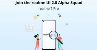 Началось тестирование Realme UI 2.0 на Realme 7 Pro