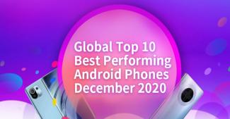 Глобальный рейтинг самых производительных Android-смартфонов декабря