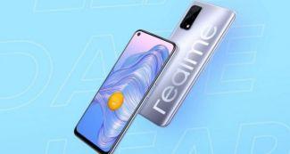 Realme решили выпустить еще один Realme V5, назвав его Realme 7 5G