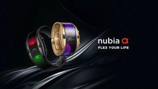 Еще одни часы, но очень экстравагантные. Nubia Watch доступны для предзаказа.