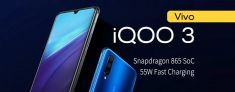 Появились характеристики Vivo IQOO 3 – возможно, самый дешевый флагман на Snapdragon 865