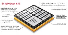 Второе поколение Snapdragon 652 засветилось на сайте Zauba