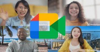 Google наконец-то добавили возможность установить свой фон в Google Meet