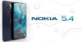 Внешний вид нового Nokia 5.4 показали на свежем сертификате