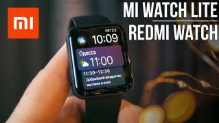 Xiaomi Mi Watch Lite Обзор – Apple Watch за $45 в деле
