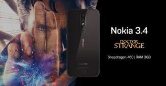 Nokia 3.4 будет работать на свежем Snapdragon 460