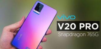 Vivo V20 Pro прошел тест GeekBench и показал неплохие характеристики