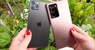 Десятка самых продаваемых смартфонов в мире