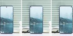 Samsung тестирует мобильники со скрытыми селфи-камерами
