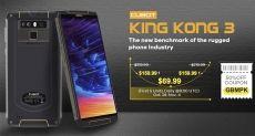 Скидки на OnePlus 6, Xiaomi Redmi Note 5, Cubot King Kong 3 и другие смартфоны на Gearbest