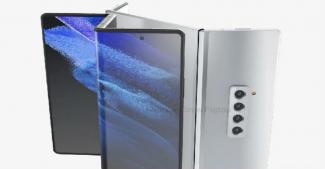 Samsung Galaxy Z Fold 3 показали в двух вариантах исполнения