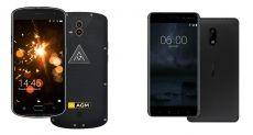Защищенный AGM X1 сравнили с Nokia 6
