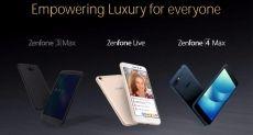ASUS ZenFone 4, ZenFone 4 Max и ZenFone 4S представят на  Computex 2017