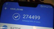 ASUS ZenFone 5z обошел в AnTuTu флагман Xiaomi Mi Mix 2s