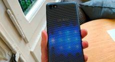 Представлен Alcatel A5 LED — первый в мире смартфон с интерактивной светодиодной тыльной панелью