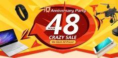 48-часовая распродажа в честь 10-летия магазина Banggood начнется уже завтра