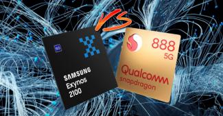 Сравнение производительности Snapdragon 888 и Exynos 2100 на примере Xiaomi Mi 11 и Samsung Galaxy S21