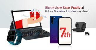 День рождение Blackview: распродажа устройств компании