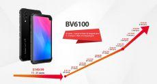 Бюджетный Blackview BV6100 получил огромный экран, NFC и емкую батарейку