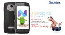 Blackview BV7000 Pro получает апдейт до Android Nougat