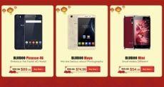 Bluboo проводит новогоднюю акцию и снижает цены на свои смартфоны до 50%
