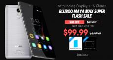Bluboo Maya Max в акции от магазина Geekbuying.com: за $150 с 19 по 24 сентября и 5 штук по $100 ежедневно